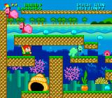 Parasol Stars: The Story of Bubble Bobble III TurboGrafx-16 When enemies turn red, look out