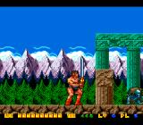 Rastan Saga II TurboGrafx-16 Extended the length of the sword