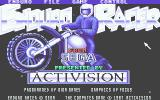 Enduro Racer Atari ST Title screen