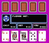Casino Kid NES Not much of a hand, is it?