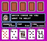 Casino Kid NES Trying to collect a straight