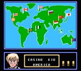 Casino Kid 2 NES World map