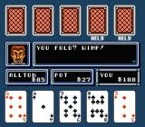 Casino Kid 2 NES Hey, you would, too, if you saw my cards!