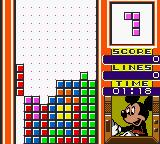 "Magical Tetris Challenge Game Boy Color Put the vertical block correctly and you do a ""Tetris""!"