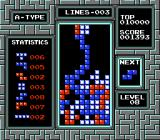 Tetris NES Game Over for you! Sorry...