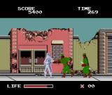 The Ninja Warriors TurboGrafx-16 They come at you from the left as well as the right