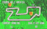 Continental Circus Atari ST Your final rank in one race carries over to the start of the next