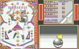 1st Person Pinball Atari ST Close to a bumper in third-person mode