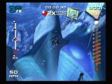 SSX 3 GameCube Jumping over a large crevice