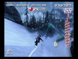 SSX 3 GameCube That X to the bottom right is a point multiplier