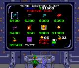 Daffy Duck: The Marvin Missions SNES ACME Weapons shop