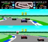 Final Lap Twin TurboGrafx-16 GP Mode Demo