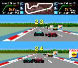 Final Lap Twin TurboGrafx-16 The numbers indicate your current position.