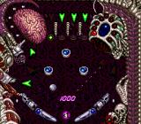 Alien Crush TurboGrafx-16 Top Screen
