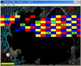 Breakout 3000 Windows 3.x Level 2 - the green bricks are explosive