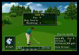 PGA Tour Golf III Genesis Stats for the upcoming hole