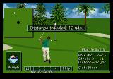 PGA Tour Golf III Genesis Chipped myself into a great birdie chance here