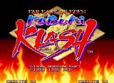 Kabuki Klash Neo Geo Title screen.