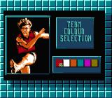 Aussie Rules Footy NES Selecting team color