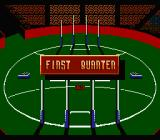 Aussie Rules Footy NES First quarter begins