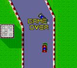 Moto Roader TurboGrafx-16 Game Over