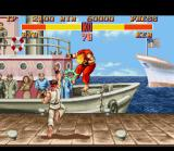 Street Fighter II SNES Ken was perfectly smashed by Ryu's Shoryuken!
