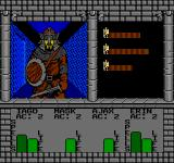 Swords and Serpents NES Combat
