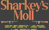 Sharkey's Moll Atari ST Title screen