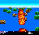 After Burner II TurboGrafx-16 Shot down