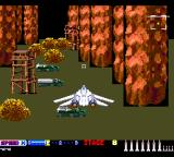 After Burner II TurboGrafx-16 Must be a watch tower down below