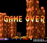 After Burner II TurboGrafx-16 Game Over