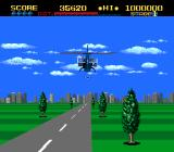 ThunderBlade TurboGrafx-16 Launched two missiles (3rd-person perspective)