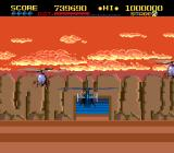 ThunderBlade TurboGrafx-16 Don't crash into the rockface