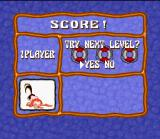 Tetris 2 SNES The little girl was defeated after some hard matches. Would you like to battle again? Make your choice!