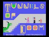 Tunnels of Doom TI-99/4A Title screen