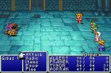 Final Fantasy I & II: Dawn of Souls Game Boy Advance Fighting (FF1)