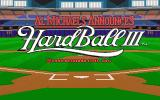 HardBall III DOS Title screen (MCGA/VGA)