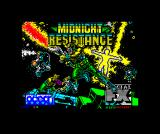 Midnight Resistance ZX Spectrum Title screen