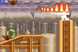 Contra Advance: The Alien Wars EX Game Boy Advance Shooter's best friend: a flamethrower!