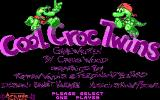 The Cool Croc Twins DOS Title Screen