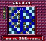 Archon: The Light and the Dark NES The wizard revives one of his creatures which had been killed in combat. You can cast the revive spell only once per game