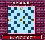 Archon: The Light and the Dark NES The NES port has a new gameplay rule that encourages combat. If no battle has been fought for quite a while the game ends in a stalemate