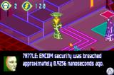 TRON 2.0: Killer App Game Boy Advance Talking to another character, er...program