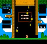 "Wario's Woods NES The faster you finish a level in ""Round Game"" the more gold you will get"