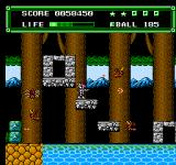 Xexyz NES Forest level