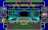 Omnicron Conspiracy DOS The ship's console