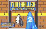 Footballer of the Year 2 Atari ST Title screen