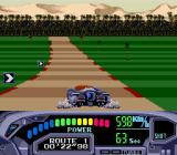 OutRun 2019 Genesis Taking a left-hander