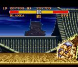 Street Fighter II Turbo SNES Blanka's electric move can be lethal when used wisely.