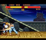 Street Fighter II Turbo SNES Hadou-Ken and Sonic Boom: clash of projectiles!